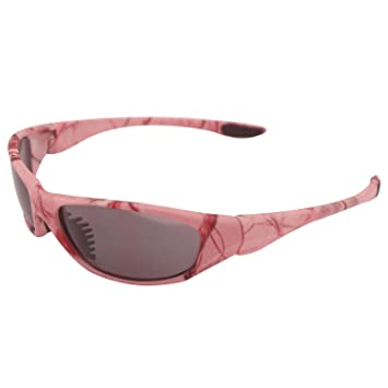 ladies sports sunglasses  Amazon.com: Aes Optics Realtree Ladies Pink Camo Sunglasses ...