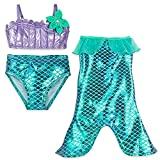 Disney Ariel Swimwear Set For Girls Size 5/6