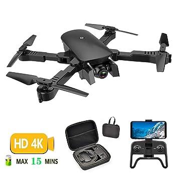 Rclhh Drone con Cámara HD De 4K, RC Quadcopter, App Smart Control ...