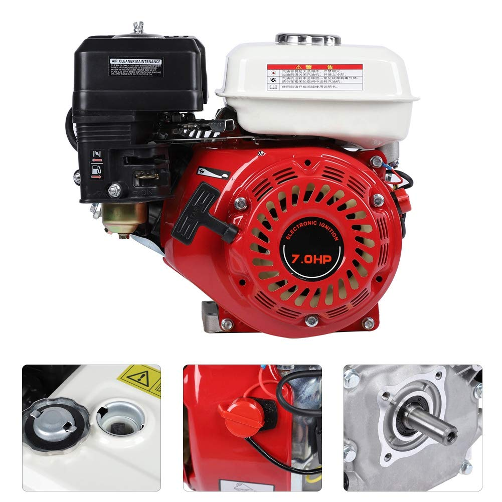 7.5 Horsepower Four-stroke Iron Gasoline Engine Petrol Engine with Oil-deficient Safety Protection Function for Industrial and Agricultural Air Cooled Engine