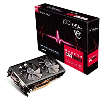 SAPPHIRE Radeon RX590 Pulse 8G - Tarjeta gráfica (8 GB ...
