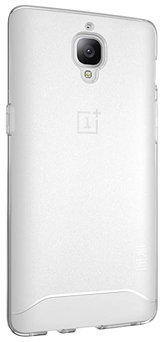 OnePlus 3T/OnePlus 3 Case, TUDIA Full-Matte Lightweight [ARCH] TPU Bumper Shock Absorption Case for OnePlus 3T, OnePlus 3 (Frosted Clear)