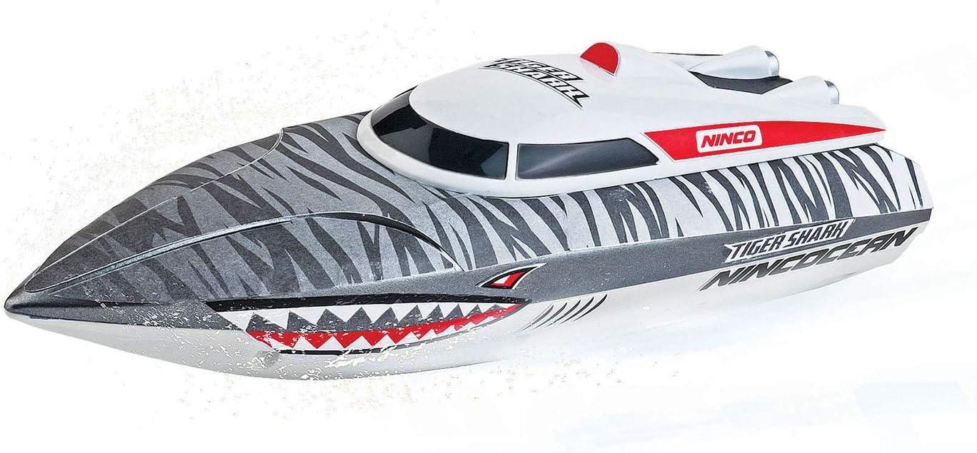 Ninco- Tiger Shark lancha, Multicolor (NH99027)