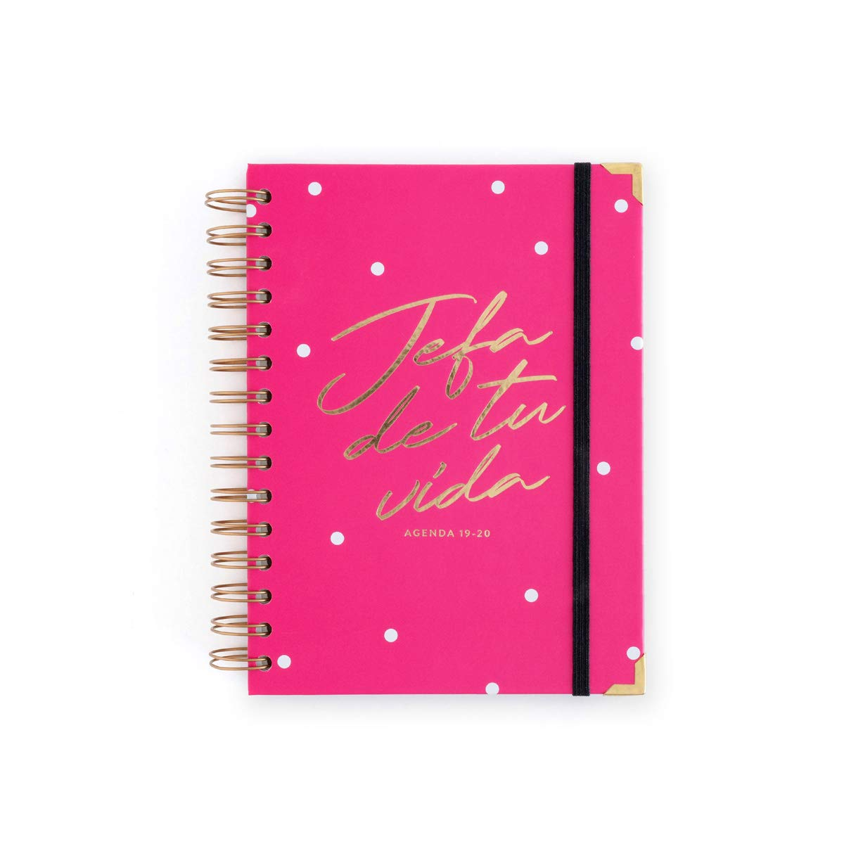 Amazon.com : 19-20 Week to View Diary Head Power Pink ...
