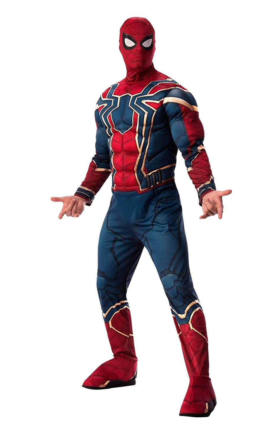 Marvel Avengers Infinity War Deluxe Iron Spider-Man Adult Costume - X-Large