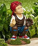 Cheap Baseball Catcher Garden Statues