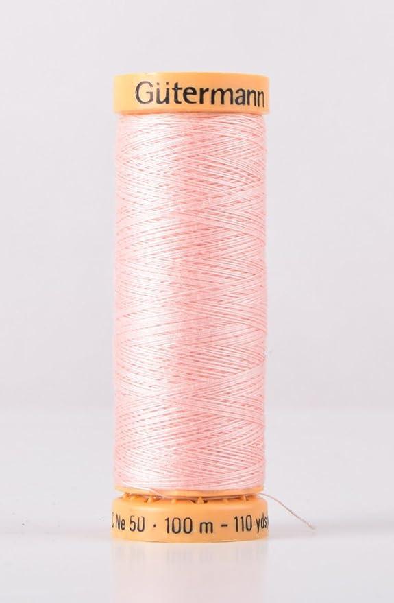 Algodón Natural Gutermann 100 m máquina de coser de hilo de coser ...