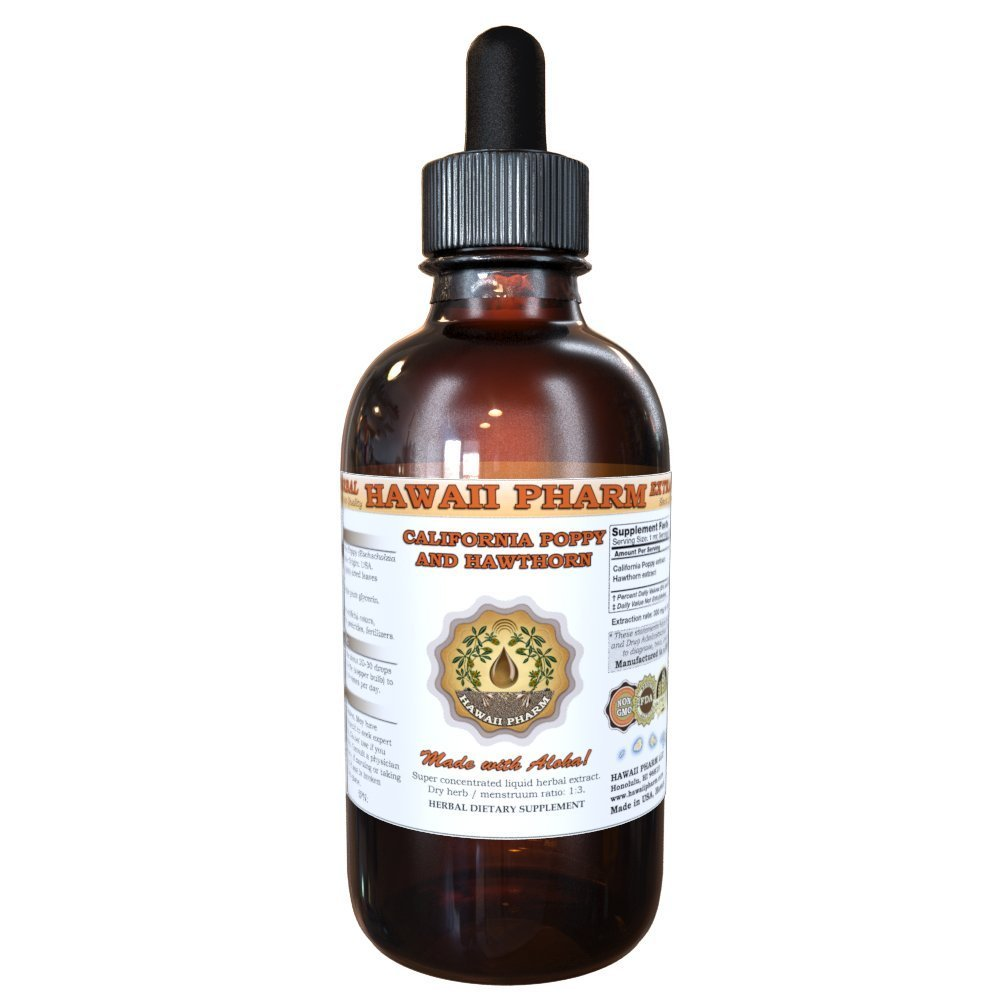 Amazon poppy liquid extract poppy papaver rhoeas tincture 2 organic california poppy passionflower and blue vervain liquid extract tincture 2 oz mightylinksfo