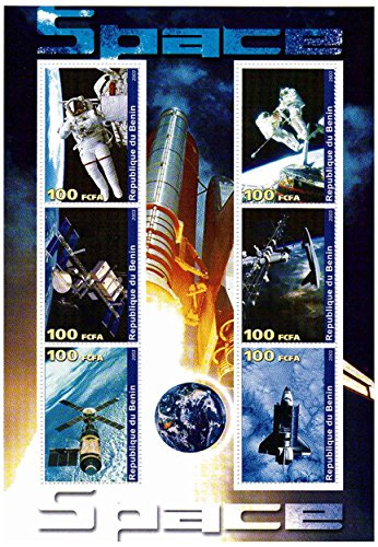 Space Stamps Mint - 5