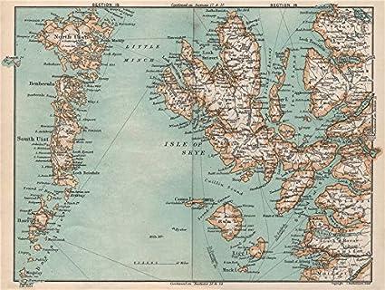 Hebrides North South Uist Isle Of Skye Rum Barra Eigg Scotland