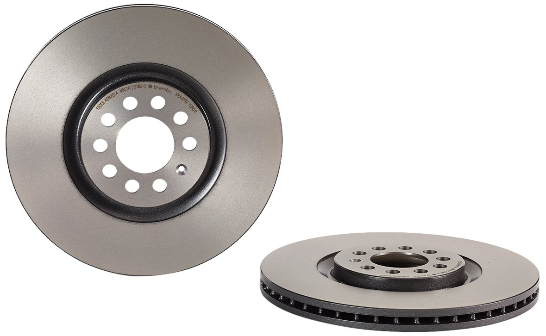 Set of 2 Brembo 09.7880.11 Front Uv Coated Brake Disc