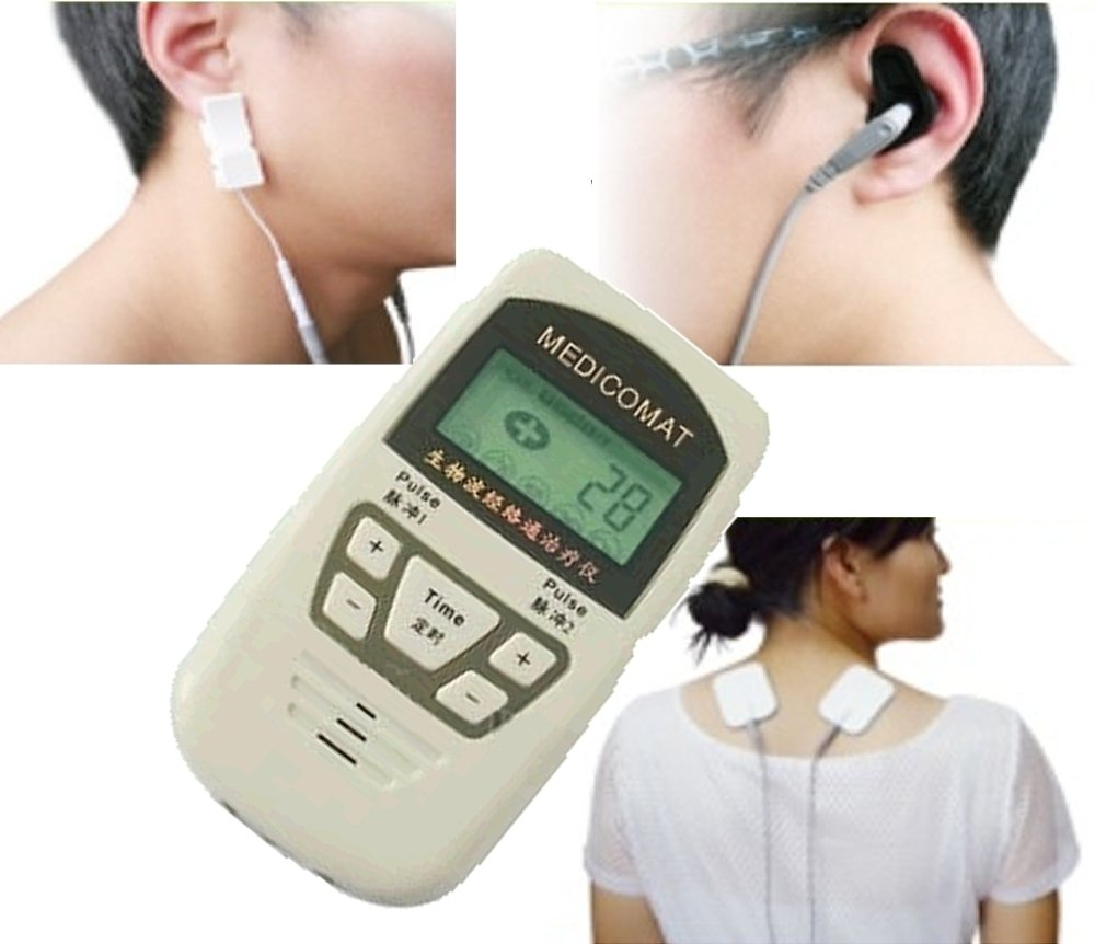 Fully Automatic Home Healthcare Medicomat Electronic Acupuncture Pain Relief Device