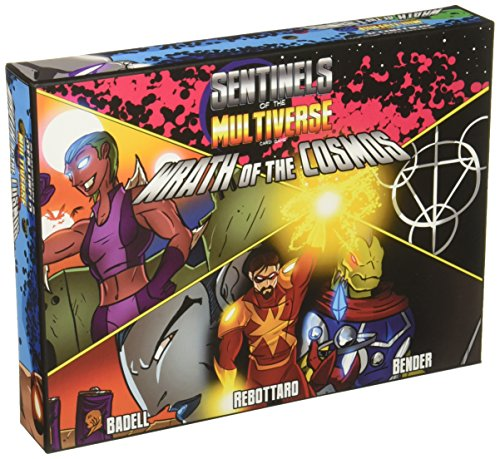 Sentinels Of The Multiverse  Wrath Of The Cosmos Board Game