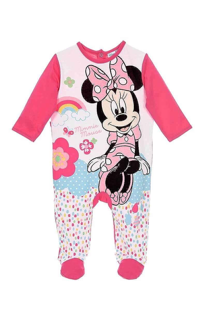 Disney Baby Mädchen (0-24 Monate) Schlafstrampler