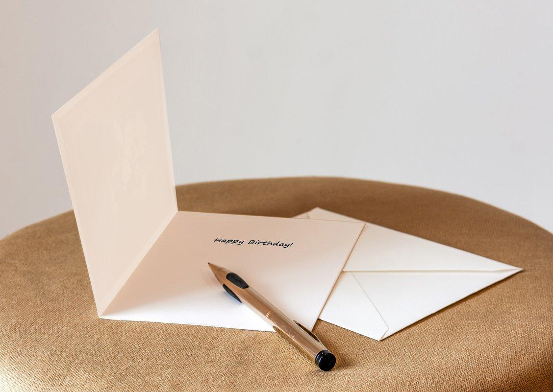 Fine Art Birthday Greeting Card with Matching Envelope Tulip Item No. 03-071-01