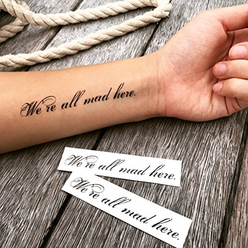 Custom Temporary Tattoo Sticker - Personalized Fake Tattoo - Waterproof Removable Water Transfer Decal Real Looking Adult Tattoo by TOOD TATTOO