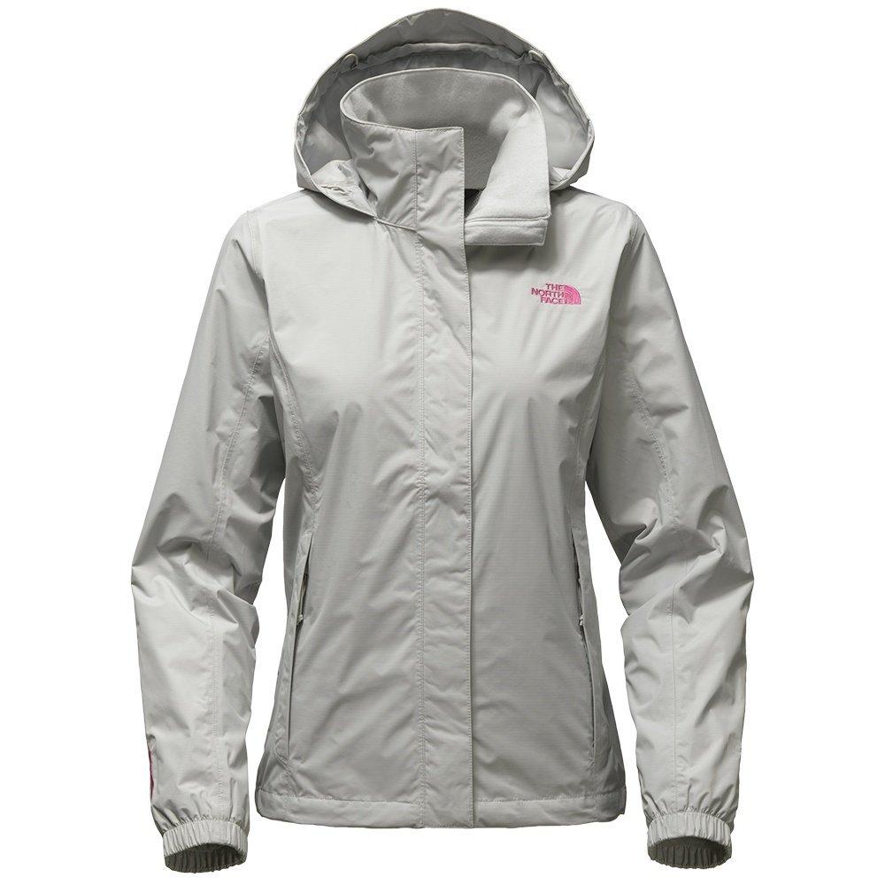 The North Face Women's Pink Ribbon Women's Resolve Jacket - High Rise Grey - XS (Past Season)