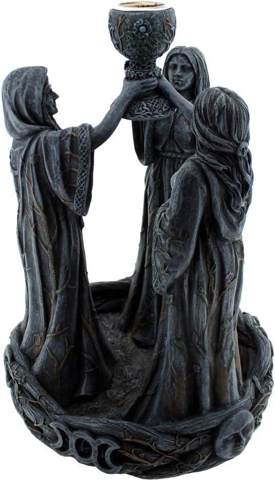 Schwarz Nemesis Now Mother Maiden /& Crone R/ückfluss-R/äuchergef/ä/ß 18 cm Kunstharz