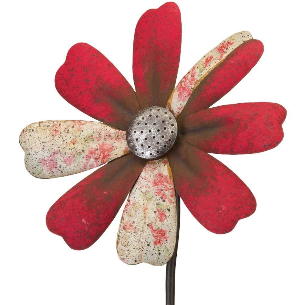 Regal Art & Gift 12297 Rustic Flower Red Wind Spinner by Regal Art & Gift