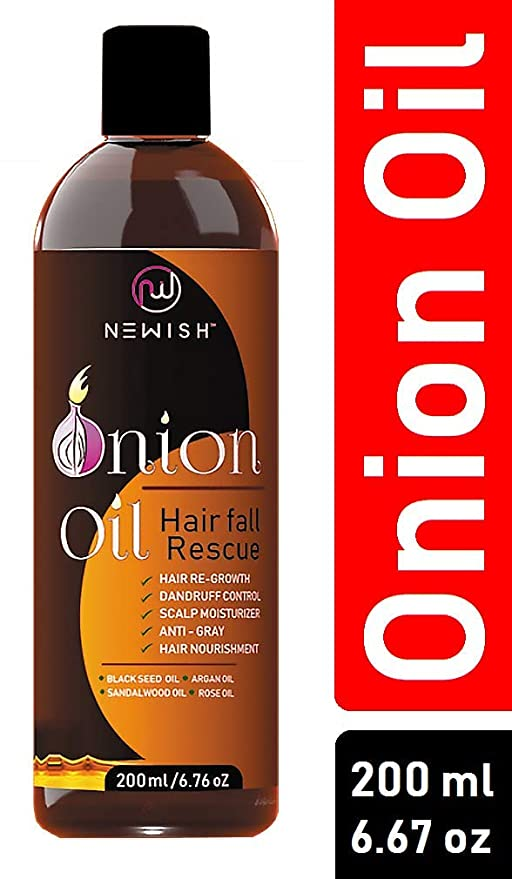 Buy Newish Red Onion Oil for Hair Regrowth Men and Women c9432f939f4
