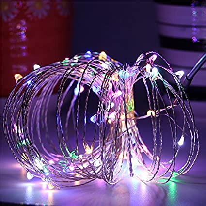 Amazon.com: BEILAI LED String Lights 33ft 100LEDs Gifts Multicolor ...