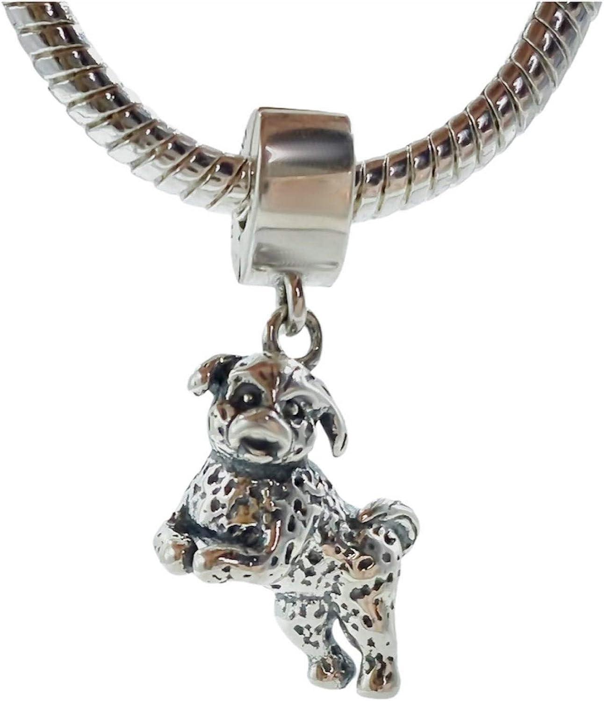 Charms for Bracelets and Necklaces Bichon Frise Charm