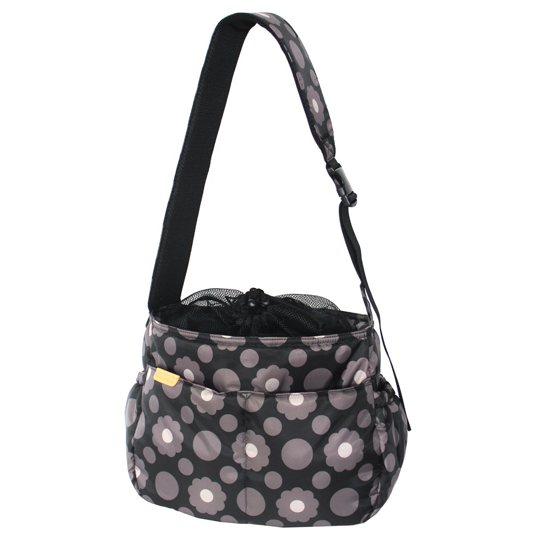 HALKARIN'S Co,Ltd. Soft Sided Pet Carrier for Dogs, Cats and Puppies, Lightweight, Size  W 14.43 x H 11.7 x D 7.02 inch, Cookie Flower café