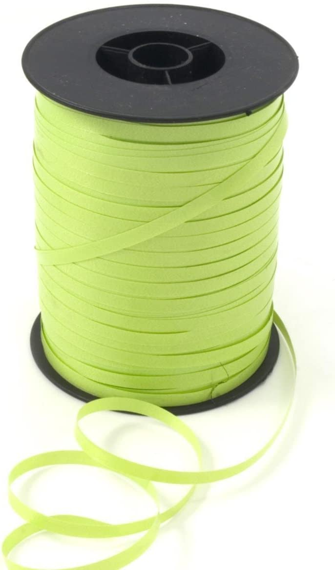 New 3//16 X 1500 Foot Roll Curling Ribbon Spool Balloon String 10 Colors 500 Yard