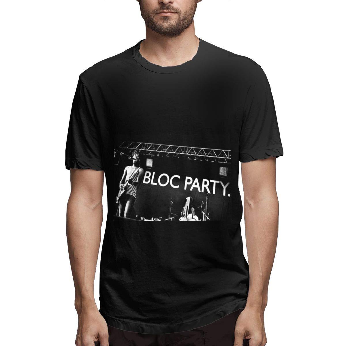 Lihehen Bloc Party Logo Round Neck T Shirt