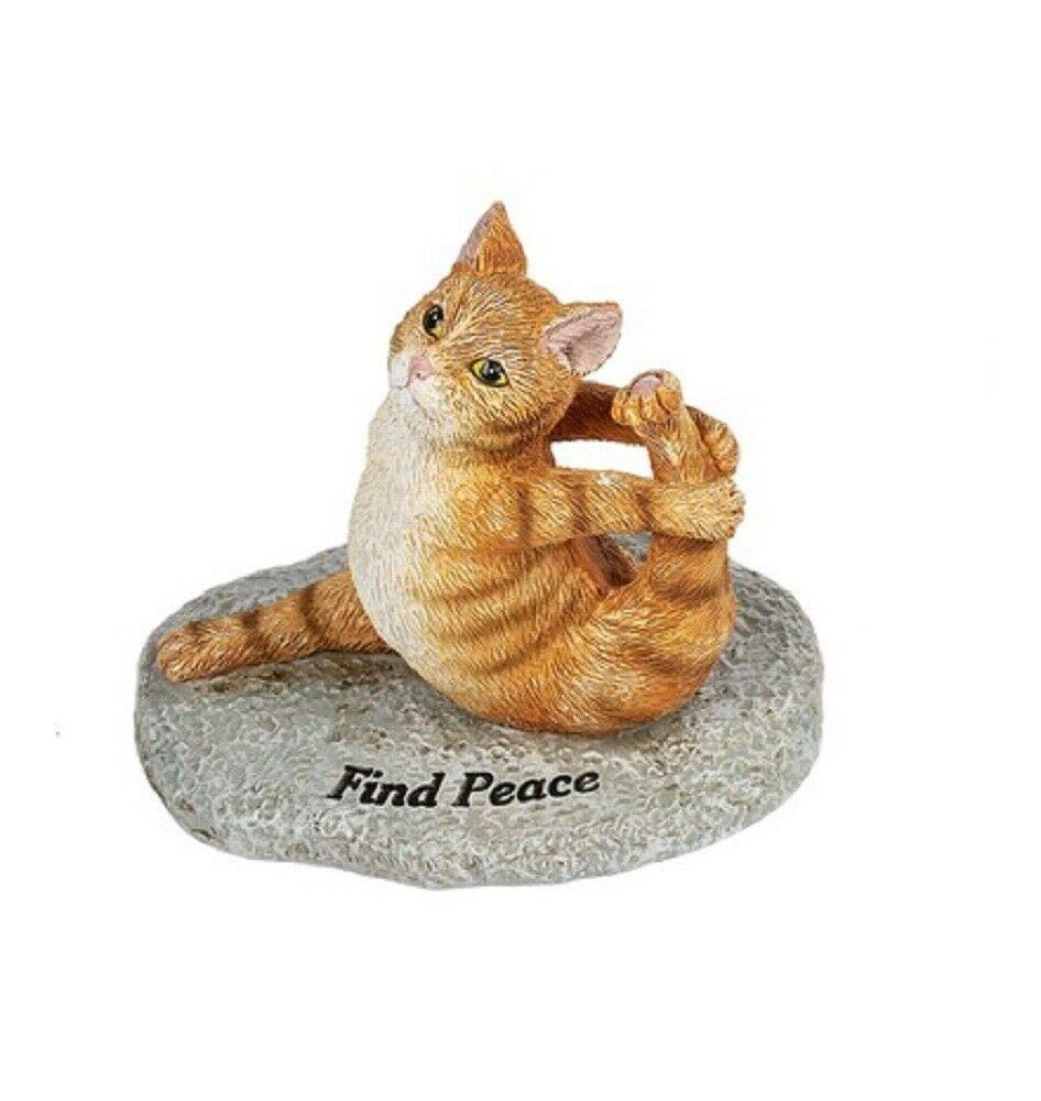 Amazon.com: Ganz ER58088 - Figura de gato de yoga para ...