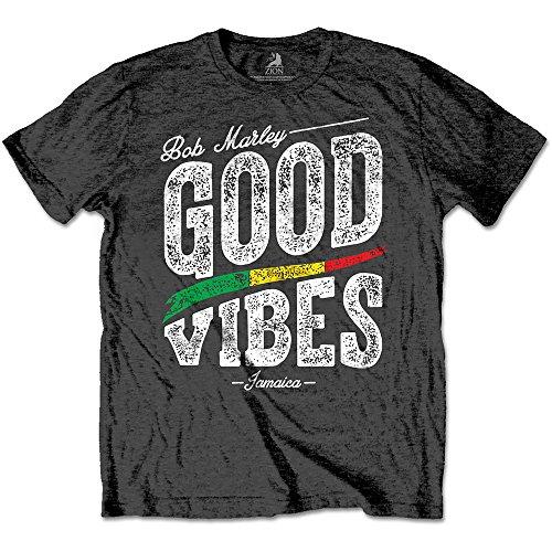 shirt Good Rockoff Uomo Vibes Trade Bob anthrazit T Marley Grigio UqpqHYw