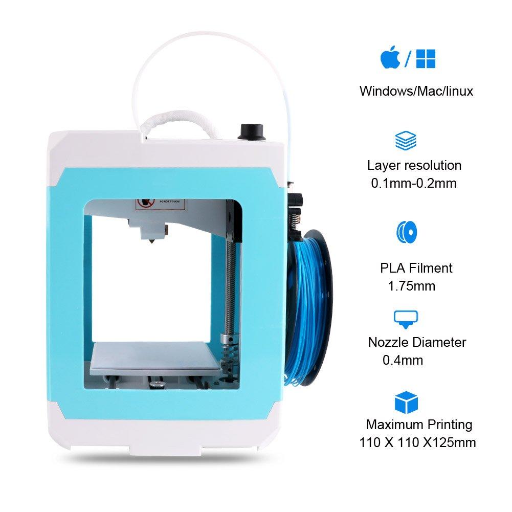 iuse OVC-D001 3D Printer Mini DIY Desktop Kit with PLA Filament TF Card Ningbo oakzip E-commerce Co Ltd