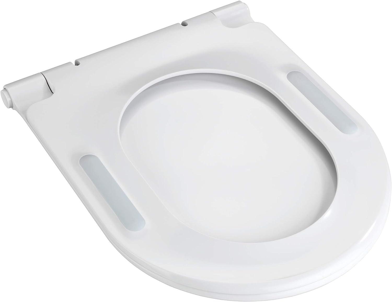 Blanc Wenko 23831100 Nuoro Abattant WC