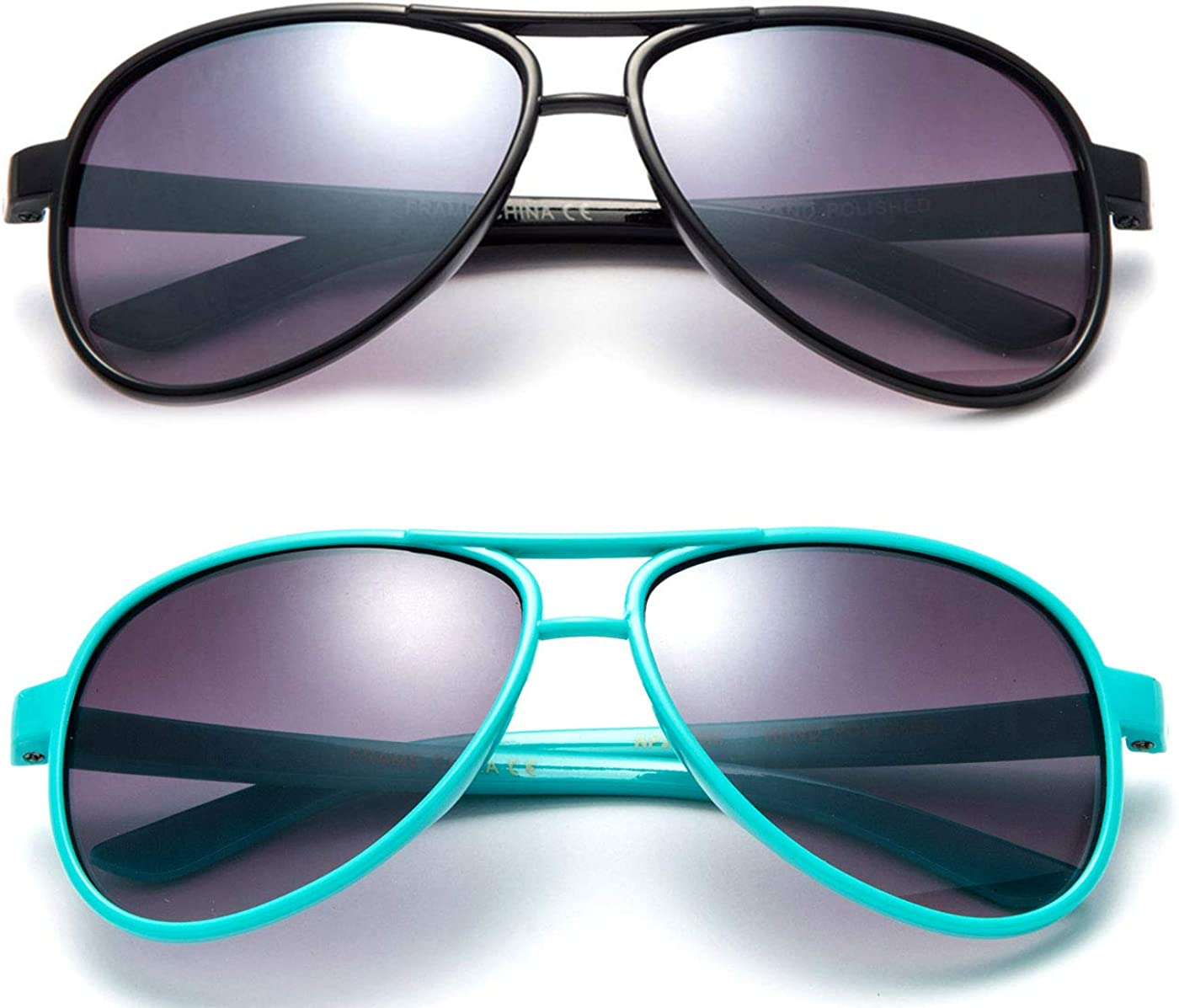 Baby Boy Plastic Aviator Sunglasses Sunglasses