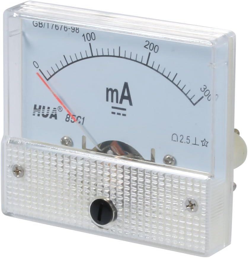 sourcing map 2.5 Genauigkeit DC 0-300mA Analog Strom Einbauinstrument Amperemeter 85C1-mA