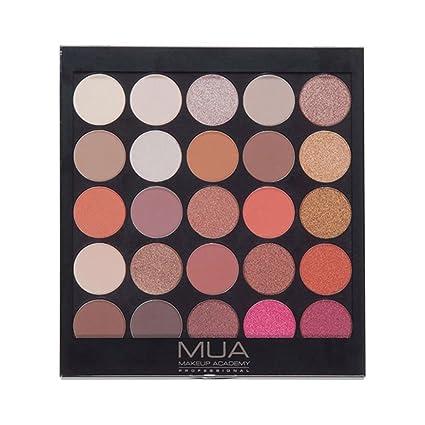 a193b2c2159 Mua - Palette di ombretti dai colori caldi naturali - 25 graziose tonalità  della terra neutre: Amazon.it: Bellezza