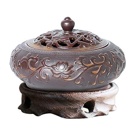 Quemador de Incienso de cerámica Difusor de Aroma, Estufa de ...