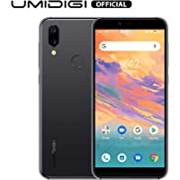 """UMIDIGI A3S Unlocked Mobile Phone 16GB+2GB RAM with 5.7"""" Incell HD+ Full-Screen Display 3950mAh Battery,16MP+13MP Dual Camera Smartphone,2 + 1 SIM Slot,Global Version Android 10 (Space Gray)"""