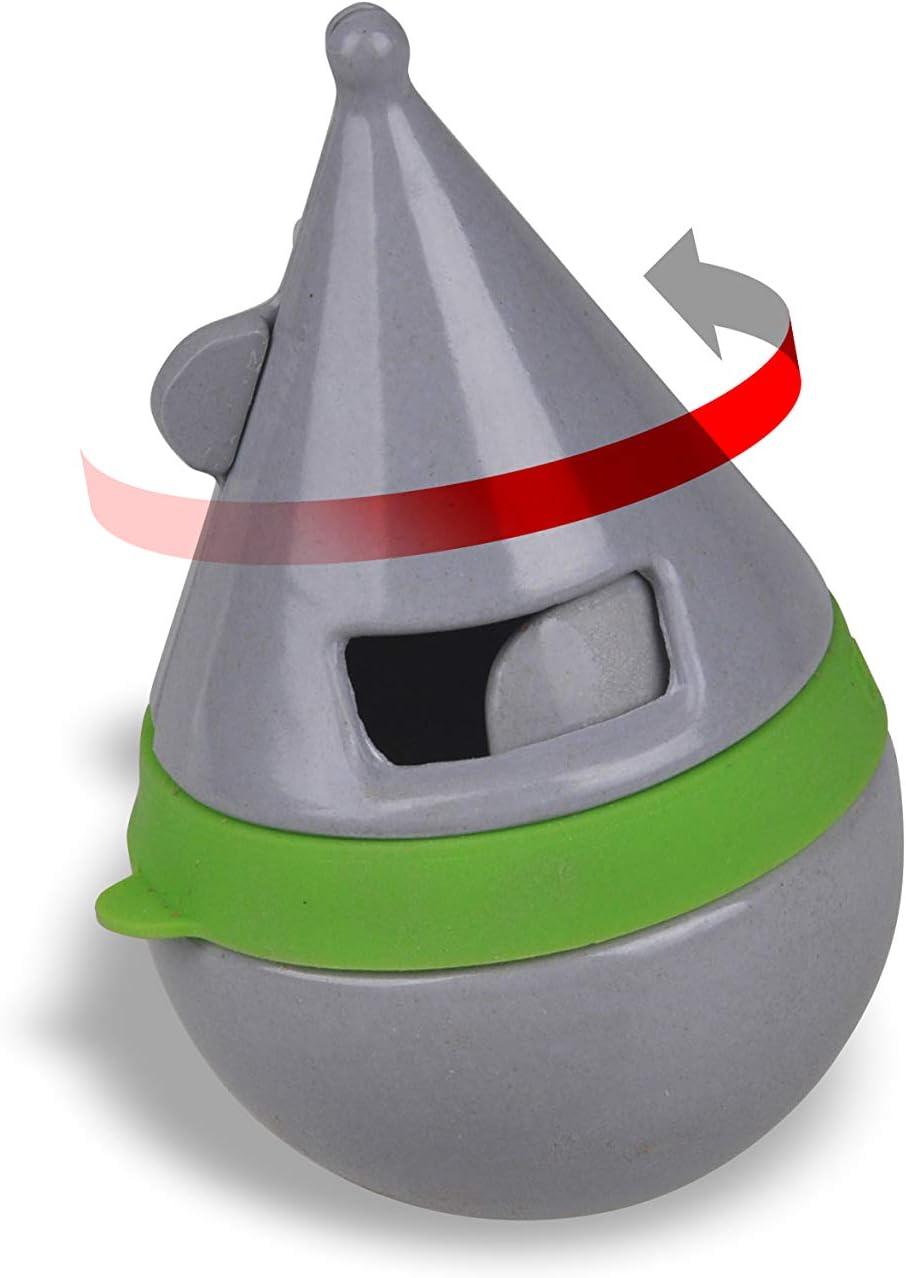 Van Ness Bamboozles Treat Dispenser Cat Toy, Grey (BTD1)