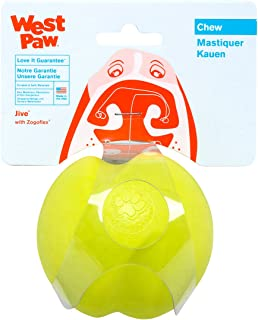 product image for West Paw Design Jive Zogoflex Durable Ball Dog Chew Toy