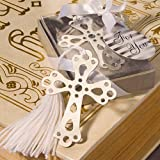 50 Book Lovers Collection Cross Bookmark Favors