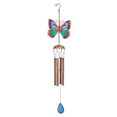 Regal Garden Wind Chime in Green Butterfly : Industrial & Scientific