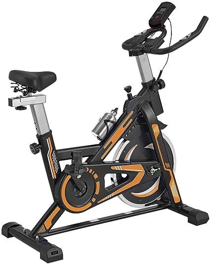 TRÉBOL ADVANCE Bicicleta de Spinning Pantalla LCD, Resistencia Variable. Regulable.: Amazon.es: Deportes y aire libre