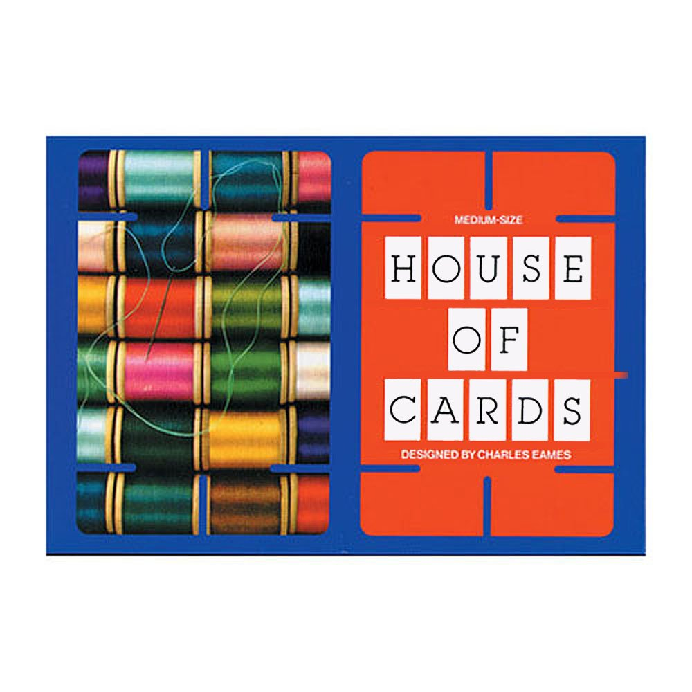 Medium Eames House of Office Cards by Eames Office of faf2c1