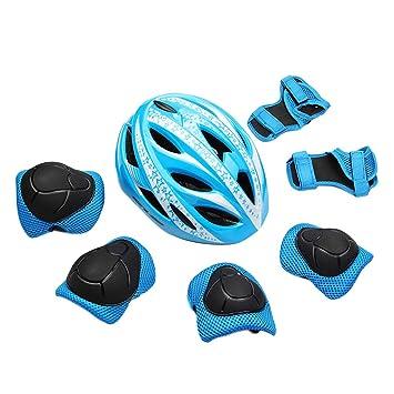 Casco Protector Transpirable con 16 Agujeros para Bicicleta ...