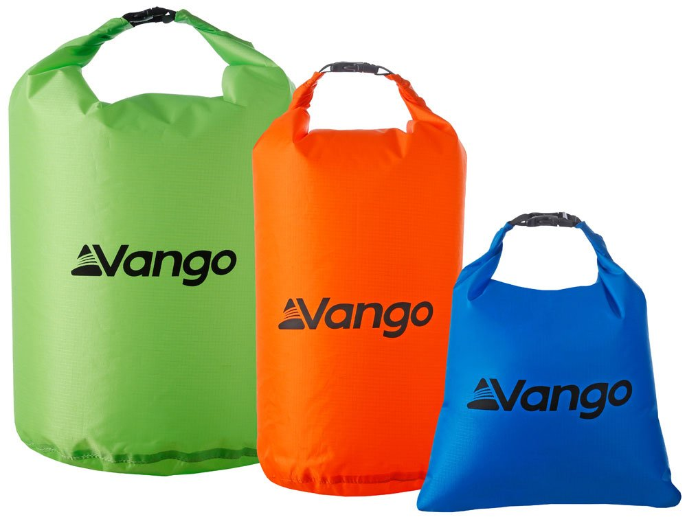 Vango Dry Bag Set of 3 RUKDRYBAGM84Z23