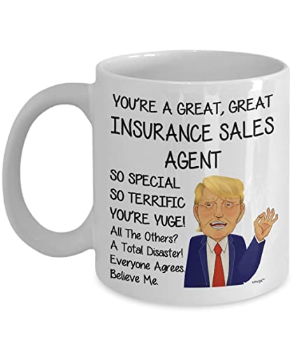 Amazon Com Insurance Sales Agent Coffee Mug Funny Gifts For Men
