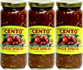 Cento Hoagie Spread Hot 12 oz - Pack of 3