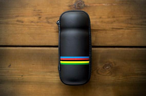 Datums Bote de Herramientas Arcoiris para Bicicleta. Bolsa Impermeable para portabidones. Toolbox: Amazon.es: Deportes y aire libre