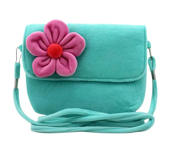 Amazon.com: Freedi Cute Little Girls Crossbody Bolso 3d flor ...